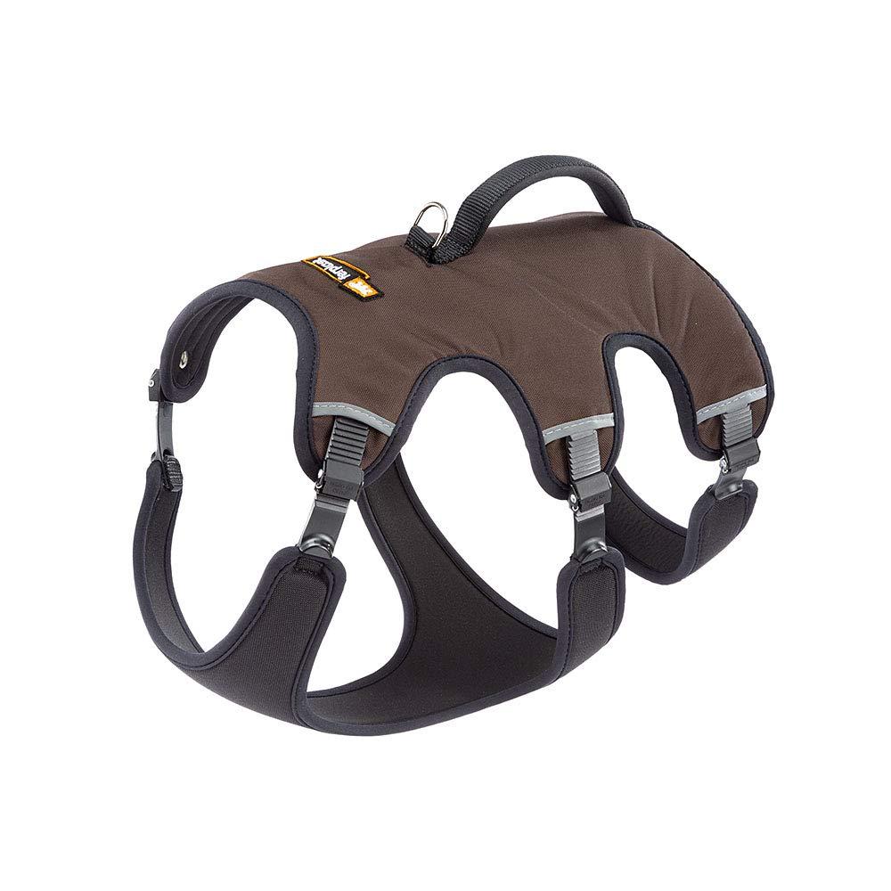 Ferplast Ergotrekking P Ergonomic Harness for Dogs A, Brown, Small