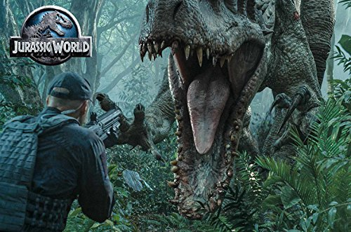Jurassic Park 1-3 + Jurassic World - 4 Movie limited UHD Steelbook Collection [Blu-ray]