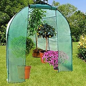 serre de jardin casa pura libre avec piquets et corde inclus pour tomates et autres plantes. Black Bedroom Furniture Sets. Home Design Ideas