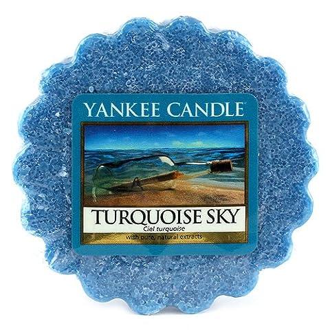 Yankee Candle 1254033E Tartelette en Cire Bougie Bleu