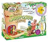 TOMY My Fairy Garden Spielzeugset - Magischer Seerosen-Garten für Kinder ab 4 Jahre – Blumentopf selber bepflanzen & mit Feen-Figur spielen, 1x Set Seerosen Garten inkl. Grassamen