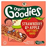 Organix Goodies Organic Strawberry & Apple Soft Oaty Bars 6 x 30G