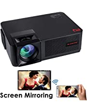 EGATE P9 Wireless Screen Mirroring Miracast LED HD 3600L Projector - 1280 X 800