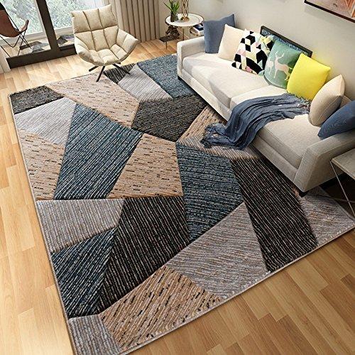 WSLTH einfach Northern Home Teppich europäischen American Wohnzimmer Couchtisch Schlafzimmer Teppich Foto Decke Dicker waschbar, 1.2 * 1.7M - Bettwäsche Nights Northern