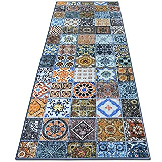 Teppichläufer Bonita | Patchwork Muster Im Vintage Look | Viele Größen |  Moderner Teppich Läufer Für