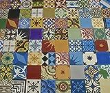 1 m² buntes Patchwork bunt 901 Fliesen Patchwork Zementfliesen orientalische Fliesen Mosaikfliesen