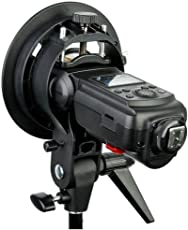 Osaka S-Type Bracket Elinchrom S Mount Holder for Speedlite Flash Snoot Softbox Camera Flash Holder Flash Bracket Holder Mount