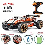 Start your kids F1 RC Car racing dream games now with the latest 1:18 High Speed RC Electric Buggy Car! This Monster Car truck is suitable for both indoor and ourdoor driving. High Speed Car is equipped with Anti-interference system where several RC ...