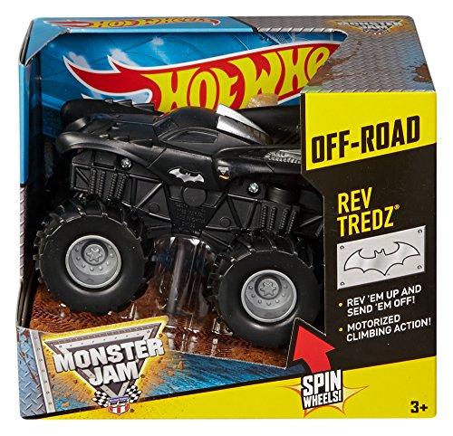 Hot Wheels Monster Jam Fahrzeug - Off Road Batman - Rückzugfunktion
