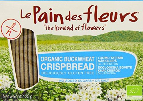 Organic Buckwheat Crispbread - 125g (Fleurs Cracker)