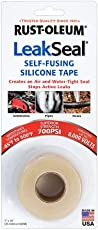 Rust-Oleum 275796 LeakSeal Self-Fusing Silicone Waterproofing Tape (Translucent)