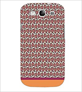 PrintDhaba Heart Pattern D-1925 Back Case Cover for SAMSUNG GALAXY S3 (Multi-Coloured)