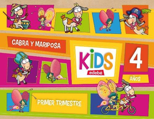 KIDS EDEBE 4 AÑOS PRIMER TRIMESTRE - 9788468309774