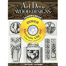 Art Deco Wood Designs (Dover Electronic Clip Art)