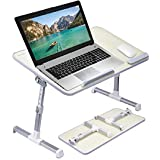Callas Adjustable Portable Laptop Table, Bed Table, Notebook Stand, Laptop Standing Desk, Portable Standing Table with Foldab