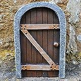 Porte de Fée Château Secret Kingdom 13cm–Accessoire de Jardin mystique Fée Elfe Pixie magique
