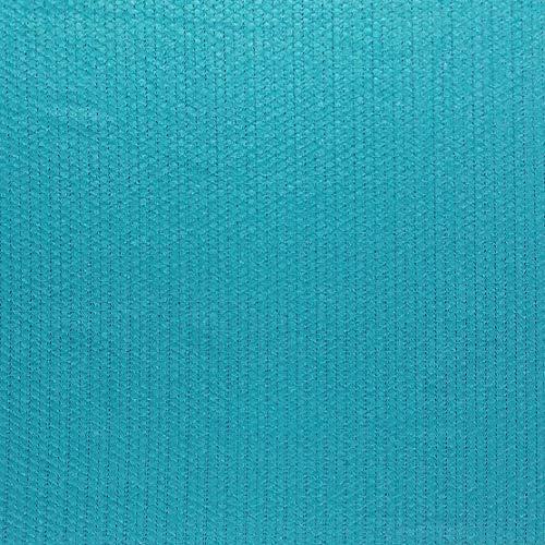 DecoHomeTextil Miami Gartentischdecke Tischdecke Meterware Outdoortischdecke Campingtischdecke Uni Türkis Eckig 130 x 240 cm Lebensmittelecht Outdoor Camping Frühling Sommer (Tischdecke Und Türkis, Braun)