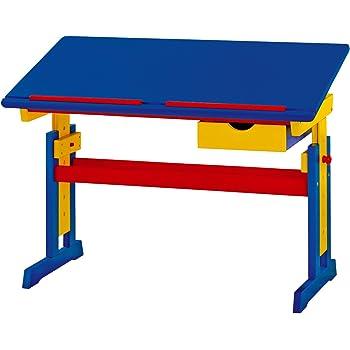 Links 40100800 MEIKE ABC Schreibtisch, 109x55x62-96 cm