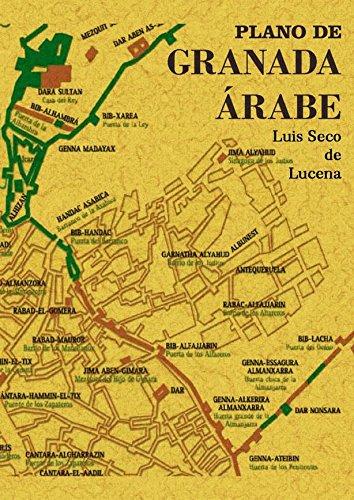 Descargar Libro Plano de Granada Árabe de Luis Seco de Lucena