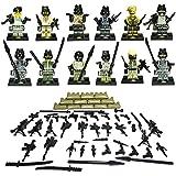 12pcs fuerza armada SWAT Minifigura de asalto armas fantasmas Commando figuras de acción