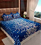 #7: STOP N SHOP FLORAL COTTON PRINTED DOUBLE BED SHEET