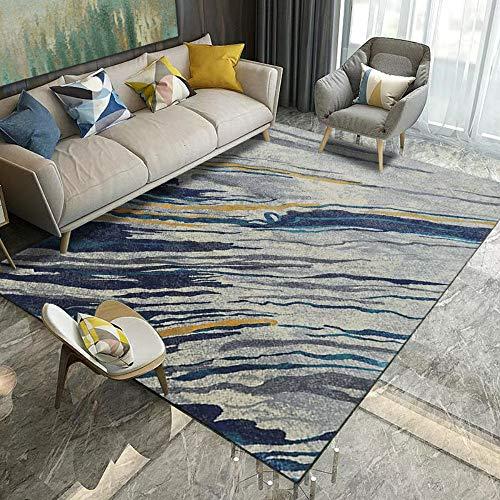 XCARPET Teppiche Matten 3D gedruckt Teppich modernen minimalistischen Wohnzimmer Couchtisch Teppich Garderobe voller Teppich zu Hause, 60 * 90 -