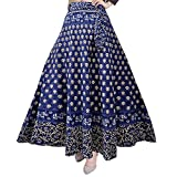#7: Silver Organisation 100% COTTON WOMEN'S SKIRT-(WRAP AROUND MULTI COLOR)