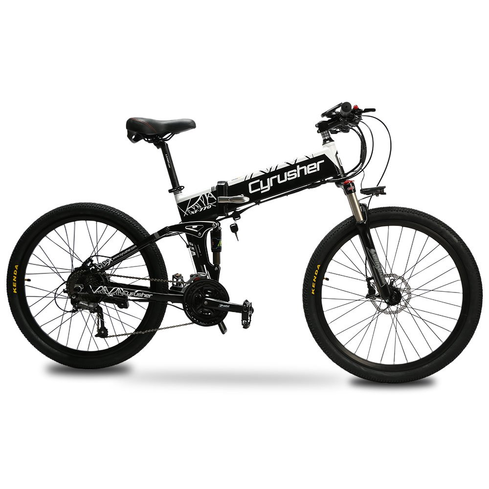 extrbici mtb mountain fahrrad xf770 43 2 x 66 cm faltbar e bike mountain 500 watt 48 v shimano. Black Bedroom Furniture Sets. Home Design Ideas