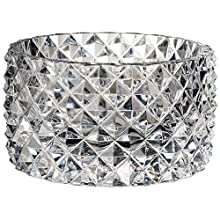 Villeroy & Boch Pieces of Jewellery Bowl No. 2, 22.2 x 11 cm, Crystal Glass, Transparent, 222 mm
