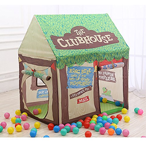 Kids Play Tent Children Playhouse with Tunnel     Indoor Outdoor Tent Pop Up Clubhouse for Boys and Girls     Promotes Early Learning  Social Bonding  Imagination Building and Roleplay     Easy Setup