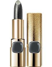 L'Oreal Paris Color Riche Metallic Addiction Lipstick, Silver Spice 630, 3.7g