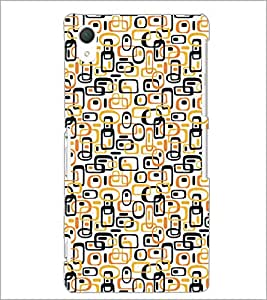 PrintDhaba Pattern D-5237 Back Case Cover for SONY XPERIA Z2 (Multi-Coloured)