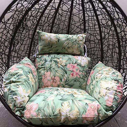 Patio-stuhl-riemen (Hängende Ei Hängematte Stuhlkissen,ohne Ständer Swing Sitzkissen Dicke Nesthängesessel Mit Mit Kissen Patio-x)