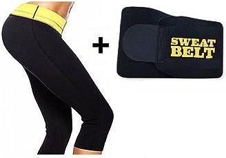 Sweet Sweat Waist Trimmer Women's Shapewear Slimming Pant and Sweat Belt