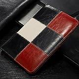 Funda de piel a Cuadros para iPad Air 2. Rojo