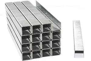 Graffette zincate 53//6 3000 pezzi per cucitrice tipo 53 STR 6 mm