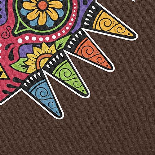 NERDO - Majora Mexican Style - Damen T-Shirt Braun