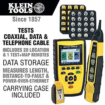 KLEIN TOOLS VDV501829 VDV Commander Tester with Test-n-Map Remote Kit VDV501-829