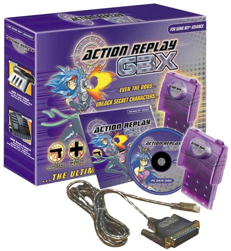 Gameboy Advance - Action Replay GBX (Game Boy Cheat)