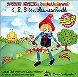 1, 2, 3, im Sauseschritt. Lern-, Spiel und Spasslieder: 1 Compact-Disc