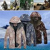 Chaqueta Softshell Militar Impermeable Para Hombres Camuflaje Forro Polar Y Piel De Tiburón Cáscara Suave Camuflaje Impermeable Pizex Traje De Tormenta Para Hombres Y Mujeres Parejas En Otoño E