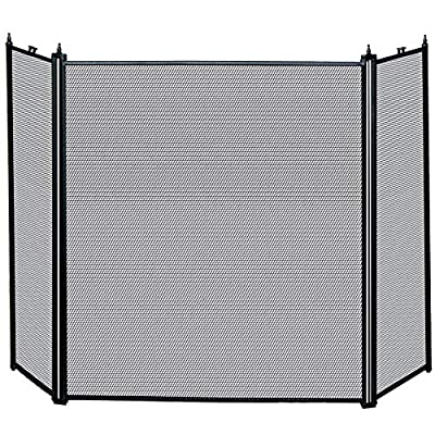 Fire Vida 3 Panel Fire Screen Spark Guard
