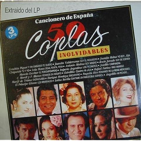 Antiguo vinilo - Old Vinyl .- CANCIONERO DE ESPAÃ'A: EL EMIGRANTE-SORTIJA DE ORO-ROMANCE DE VALENTIA-LA ROSA DE