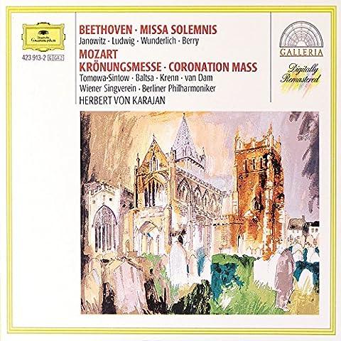 Beethoven: Missa Solemnis / Mozart: Coronation