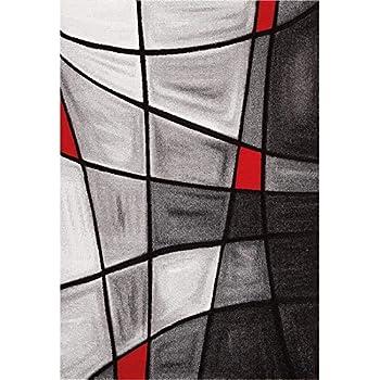 Nazar Tapis Fibres Synthetiques Rouge 150x80 Cm Dia760r Noel