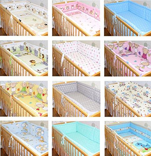 420 cm RUNDUM NESTCHEN Kopfschutz für Baby Bett 70x140 D3