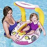 KiddieCar Bestway Aufblasbares Boot Kinder Rutscher Strand Schwimm Planschbecken Spielzeug LILO...