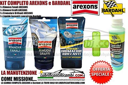 kit-arexons-bardahl-4pz-auto-moto-arexons-rinnova-fanali-arexons-rimuovi-graffi-arexons-cromature-br