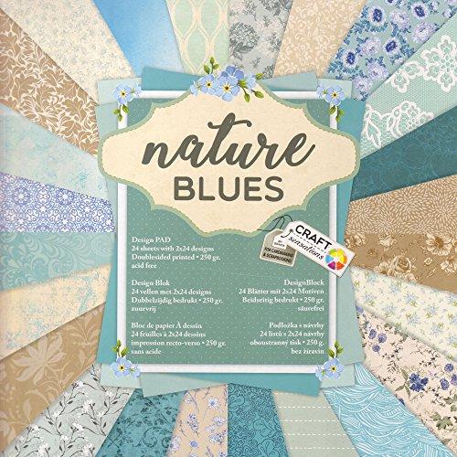 Bastelpapier Vintage vintage blue le meilleur prix dans amazon savemoney es