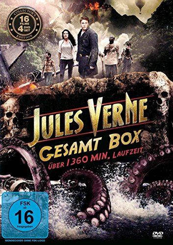 Jules Verne Gesamtbox (4 DVDs)